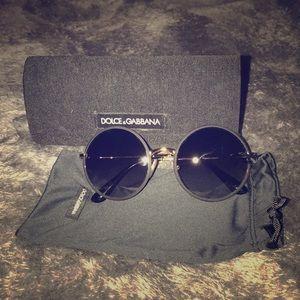 178c3877ac3f Dolce   Gabbana Accessories - Dolce   Gabbana Round-Frame Sunglasses